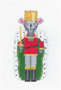 Christmas~ MOUSE KING Nutcracker handpainted Needlepoint Ornament Canvas by Susan Roberts