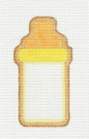 Canvas~Baby Bottle Ornament handpainted Needlepoint Canvas by Raymond Crawford