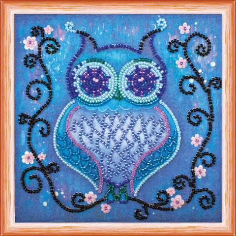 Abris Beading Kit - Mini - Blue Owl