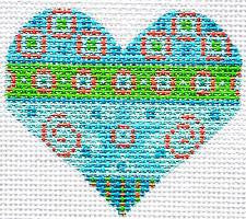 Heart with Blue and Green by Danji~SPECIAL ORDER