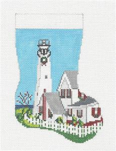 Stocking~Delaware handpainted Needlepoint Canvas~by Needle Crossings