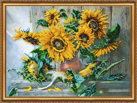 Abris Beading Kit - Large - Flowers of the Sun
