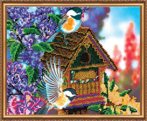 Abris Beading Kit - Medium - In the Garden - Retired