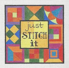 Canvas~Just Stitch It Quilt Canvas by Raymond Crawford **SPECIAL ORDER***
