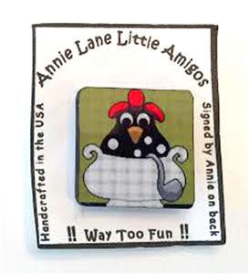 Magnet~Chicken Soup~by Annie Lane
