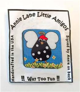 Magnet~Heavenly Hen Chicken~by Annie Lane