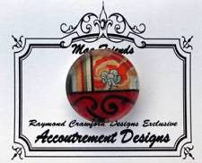 "Magnet~Glass ""Round"" Magnet Glass Needle Holder by Raymond Crawford"