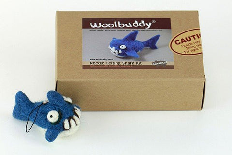Woolbuddy Needle Felting Kit - Shark