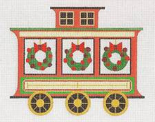 Christmas~ Train Caboose and Stitch Guide by Raymond Crawford