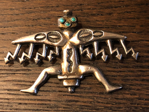 Early Zuni Pin