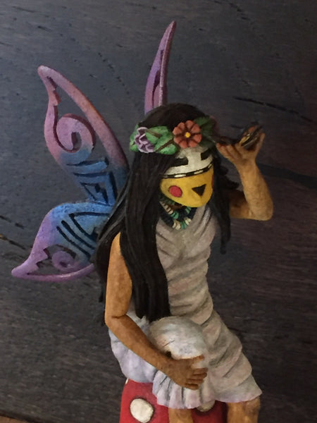 Butterfly Maiden with cut out wings