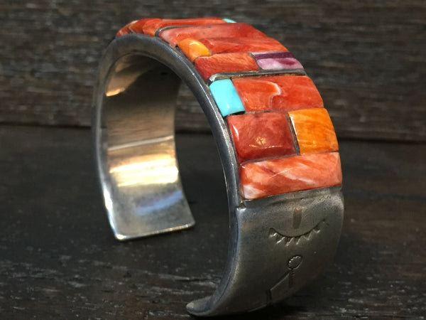 Beautiful Navajo Cuf By Mary Morgan