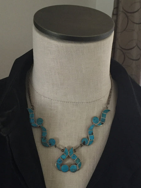 Zuni Inlay Necklace