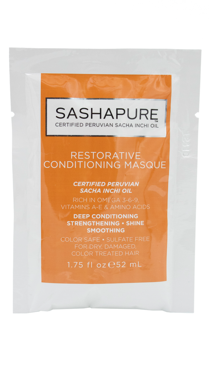 Restorative Conditioning Masque <br >Travel Packette