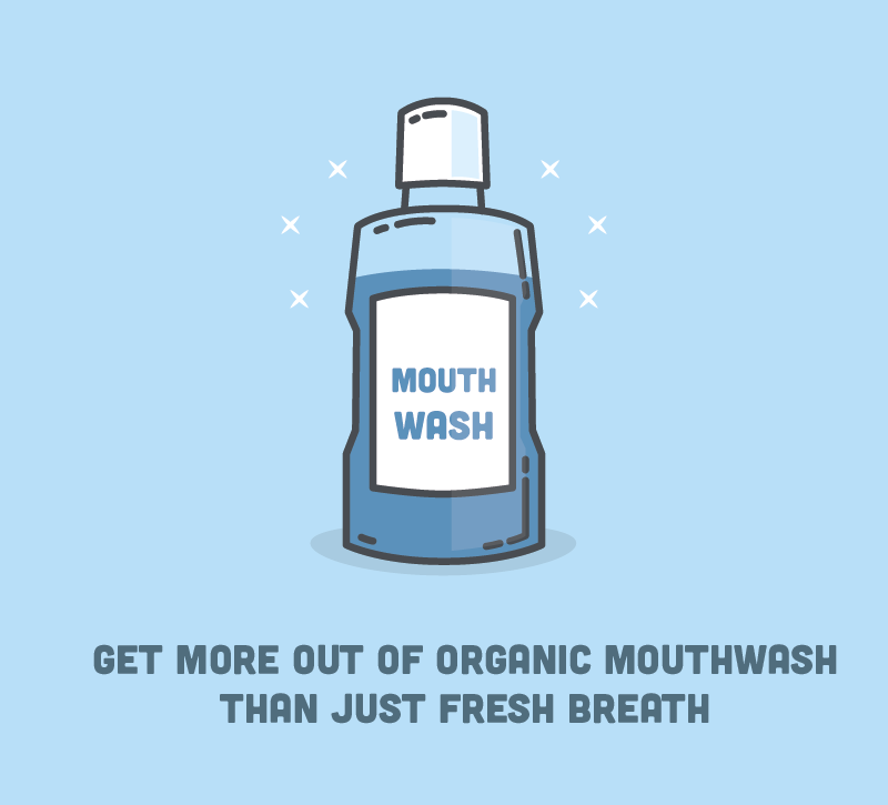Get More Out of Organic Mouthwash than Just Fresh Breath