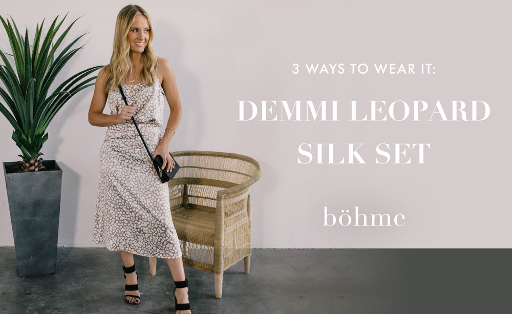 3 Ways to Wear It: Mix + Match Sets