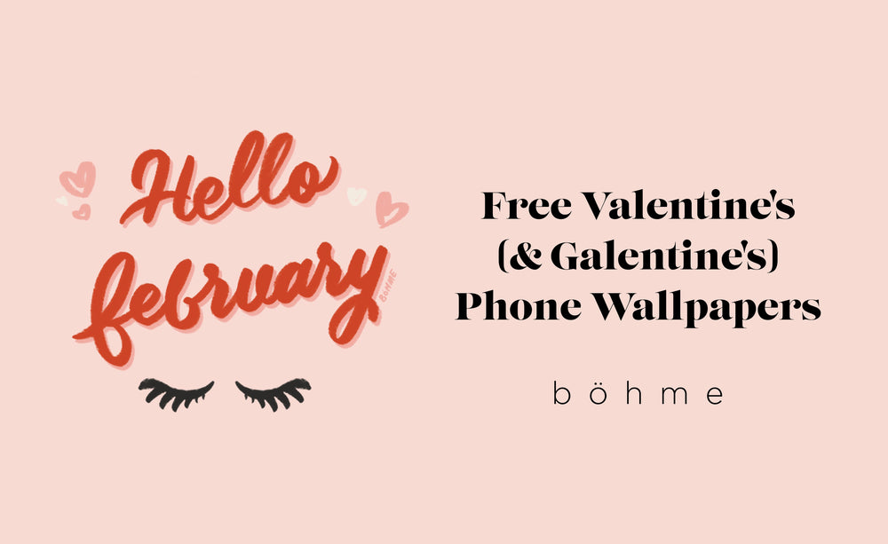 Feel The Love With New Valentine's (And Galentine's!) Phone Backgrounds!