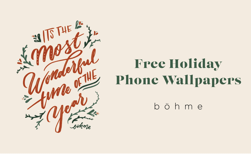 Celebrate the Holidays With New Phone Wallpapers!
