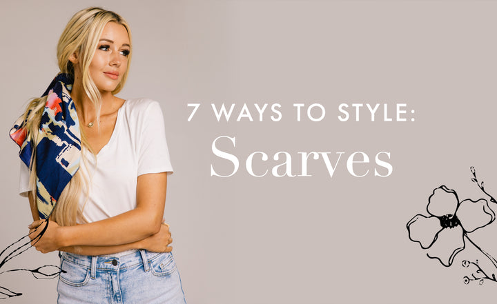 How To: Styling Scarves