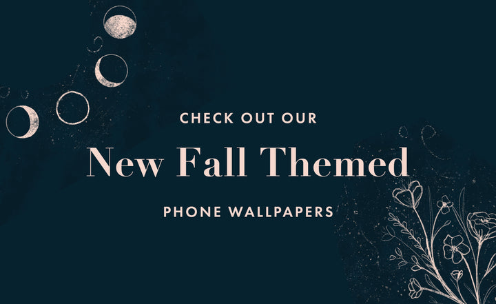 Celebrate Fall With Our New Phone Wallpapers!