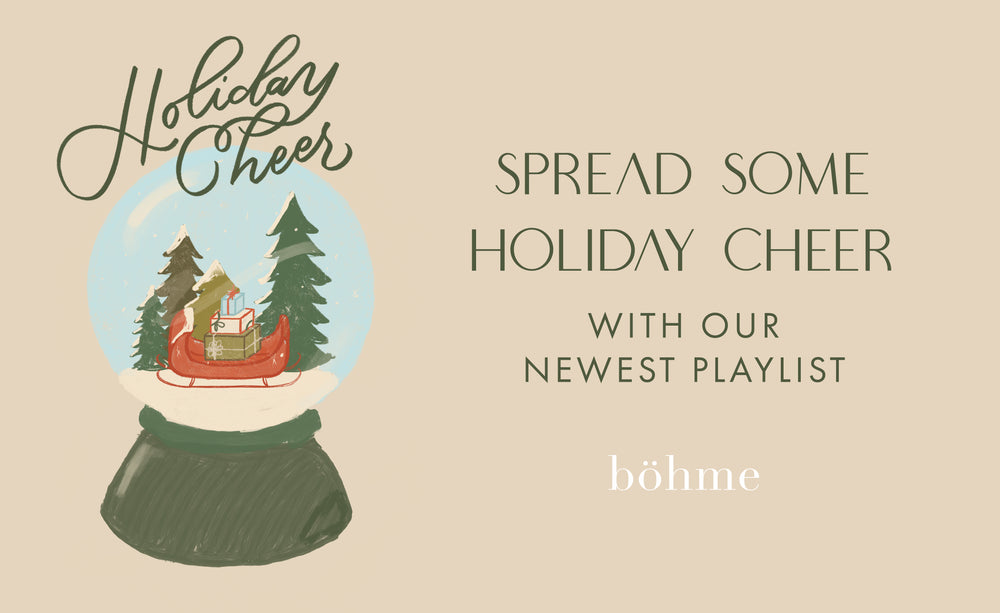 Spread Some Holiday Cheer With Our Newest Playlist!