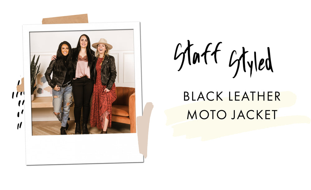 Staff Styled: The Black Leather Moto Jacket