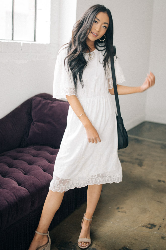 lace dress bohme