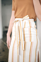 striped skirt bohme