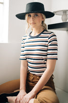 Suzanne Striped Tee Bohme