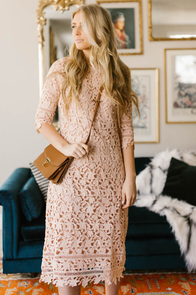 crochet midi dress bohme