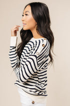 Stripe Sweater Bohme