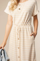 striped dress bohme
