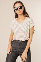 striped tee bohme