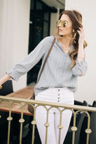 long sleeve blouse bohme
