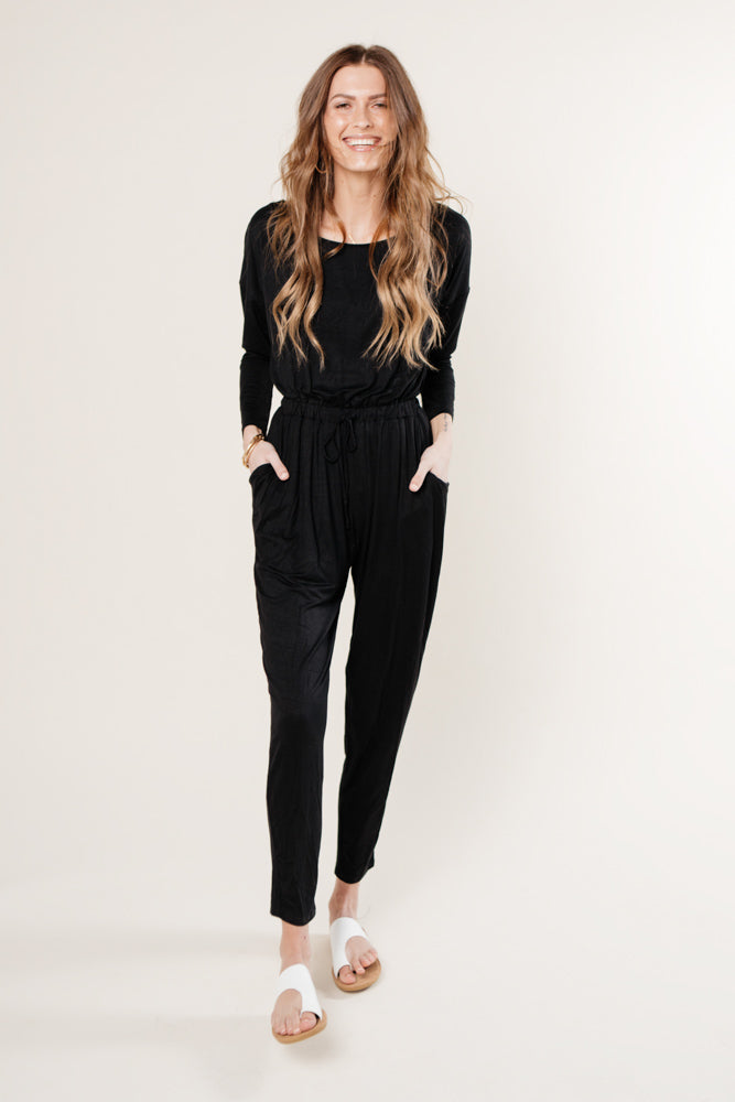 Juliet Long Sleeve Jumpsuit - FINAL SALE