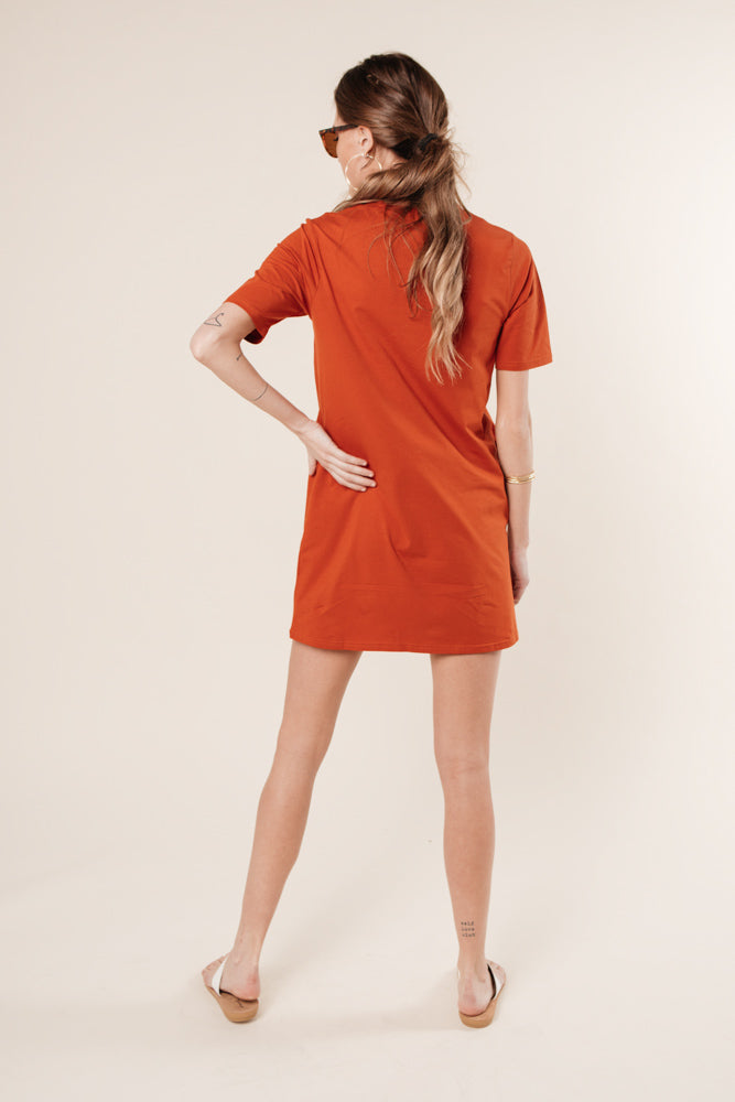 rust dress bohme