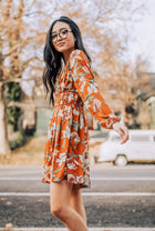 The Rayna Floral Print Tunic Dress-FINAL SALE