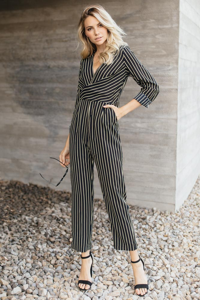 Stripe a Pose Jumpsuit - Bohme