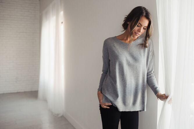 Picking Favorites V-Neck Knit Sweater