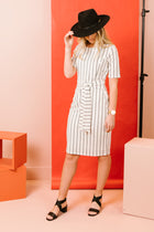 Kate Striped Dress