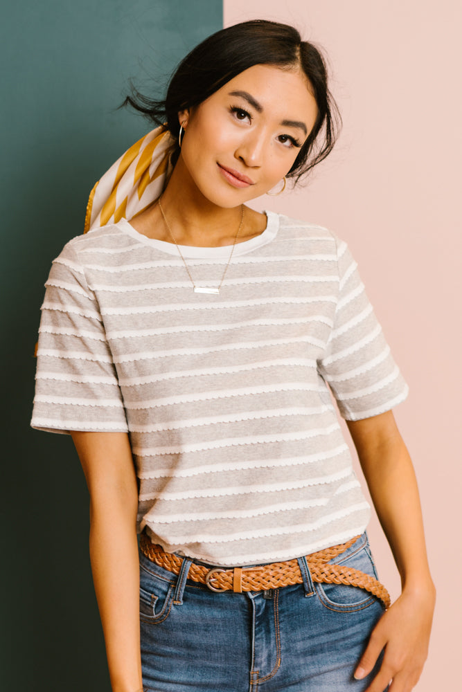 scalloped tee bohme