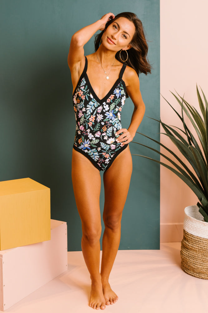 Oh So Floral One-Piece Swimsuit