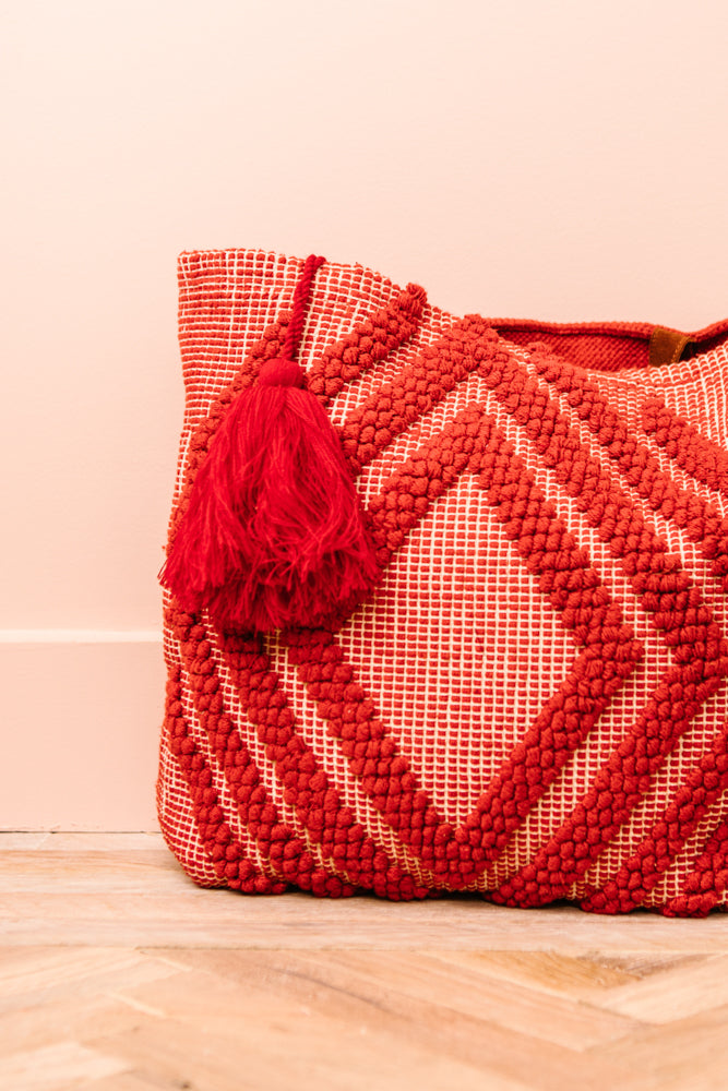 Akila Tote Bag In Red