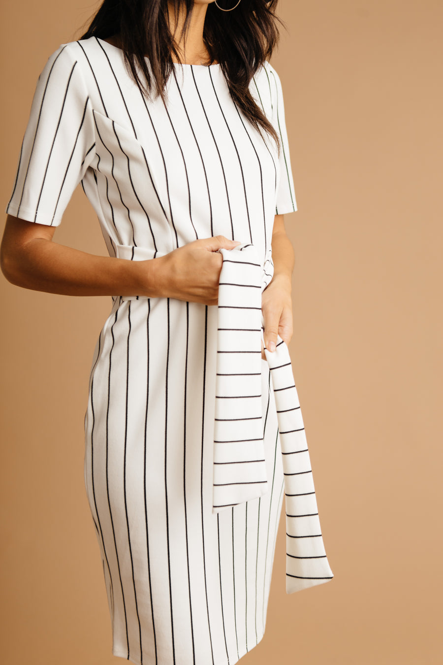 Kate Striped Dress - Bohme