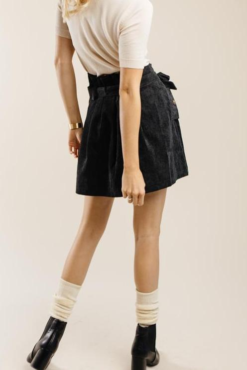 McCartney Corduroy Mini Skirt