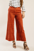 Ryland Corduroy Wide Leg Pants-FINAL SALE