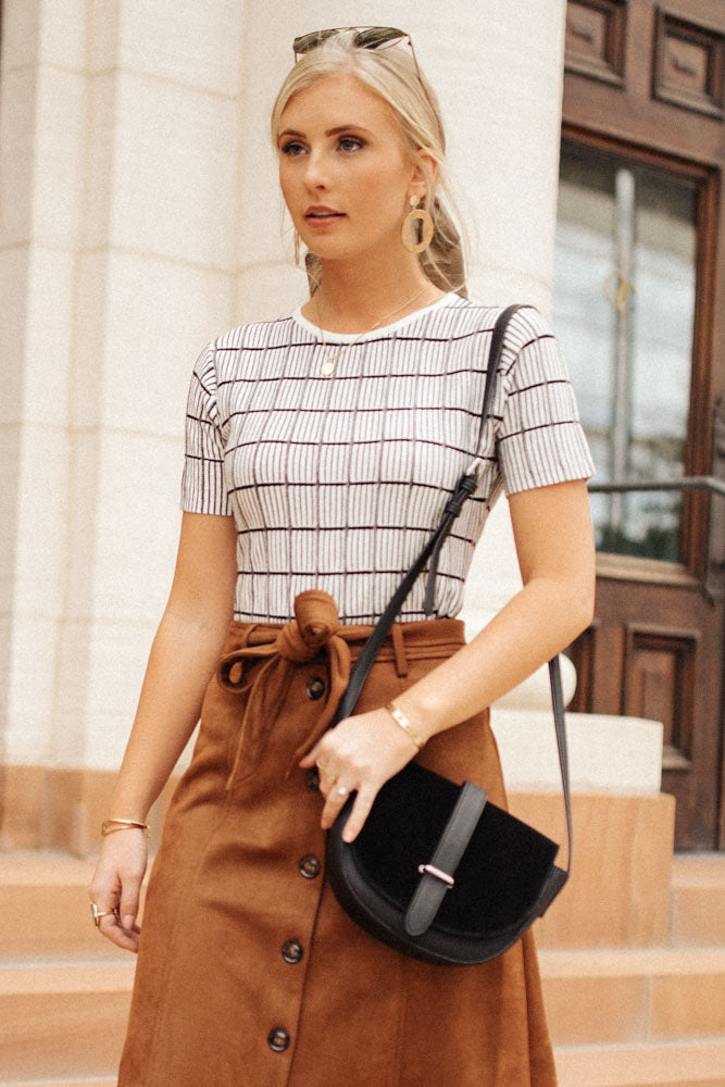 Mckinley Striped Top