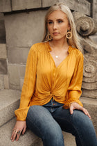 Madilyn Knotted Blouse