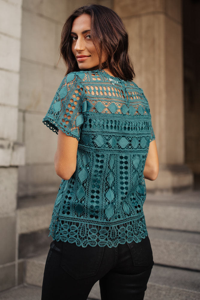Ansel Lace Top
