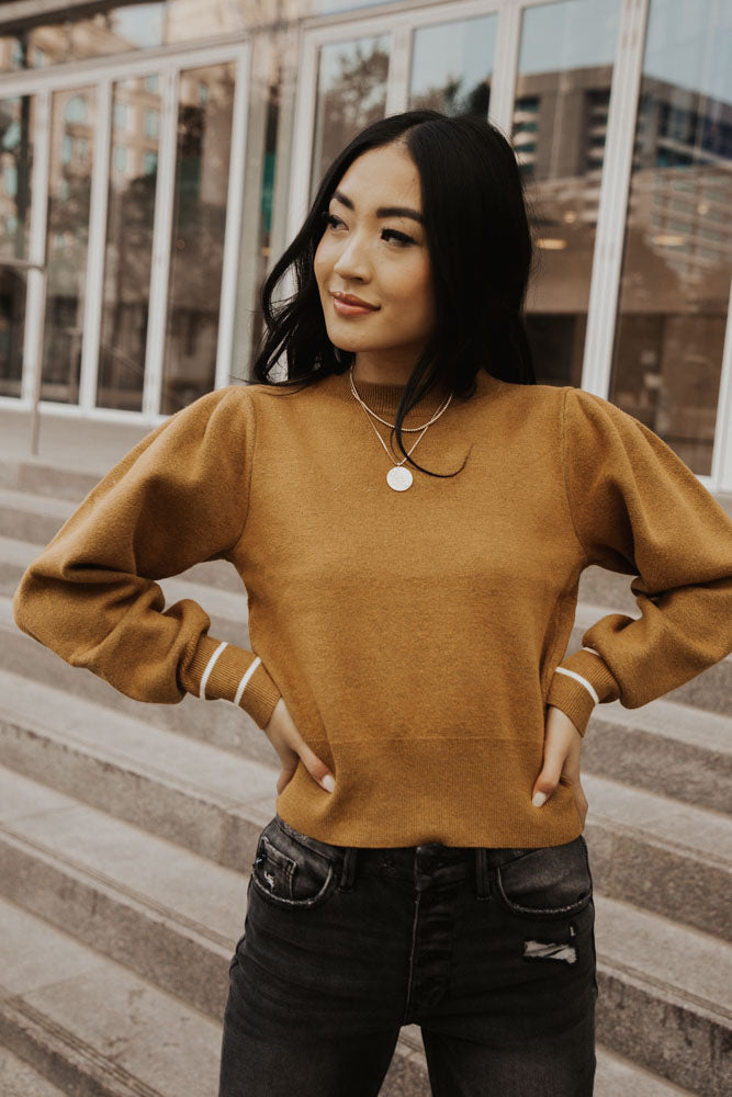 Libby Cropped Sweater